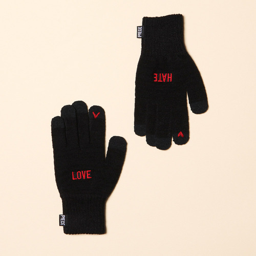 [착한장갑] LOVE HATE SMART GLOVE (BLACK)