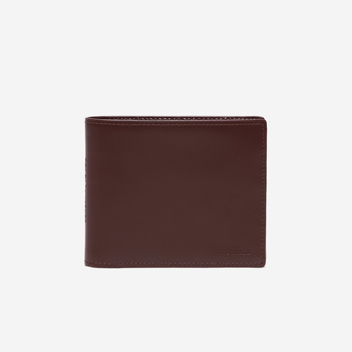 LEATHER PIECE MANS WALLET (WINE)