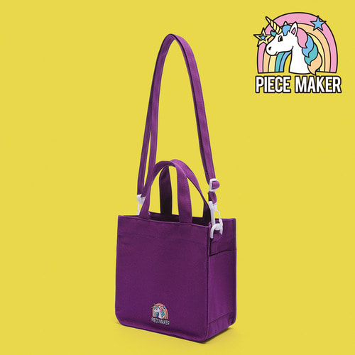 CANVAS UNICORN MINI BAG (PURPLE)