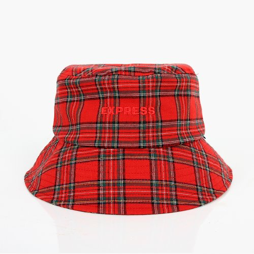 EXPRESS BUCKET HAT (RED)