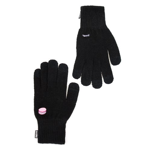 ★선물 박스★MACARON SMART GLOVES (BLACK)