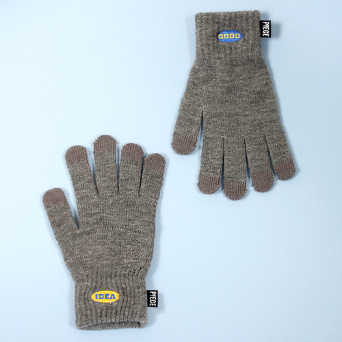 ★선물 박스★NEW GOOD IDEA SMART GLOVES (GREY)