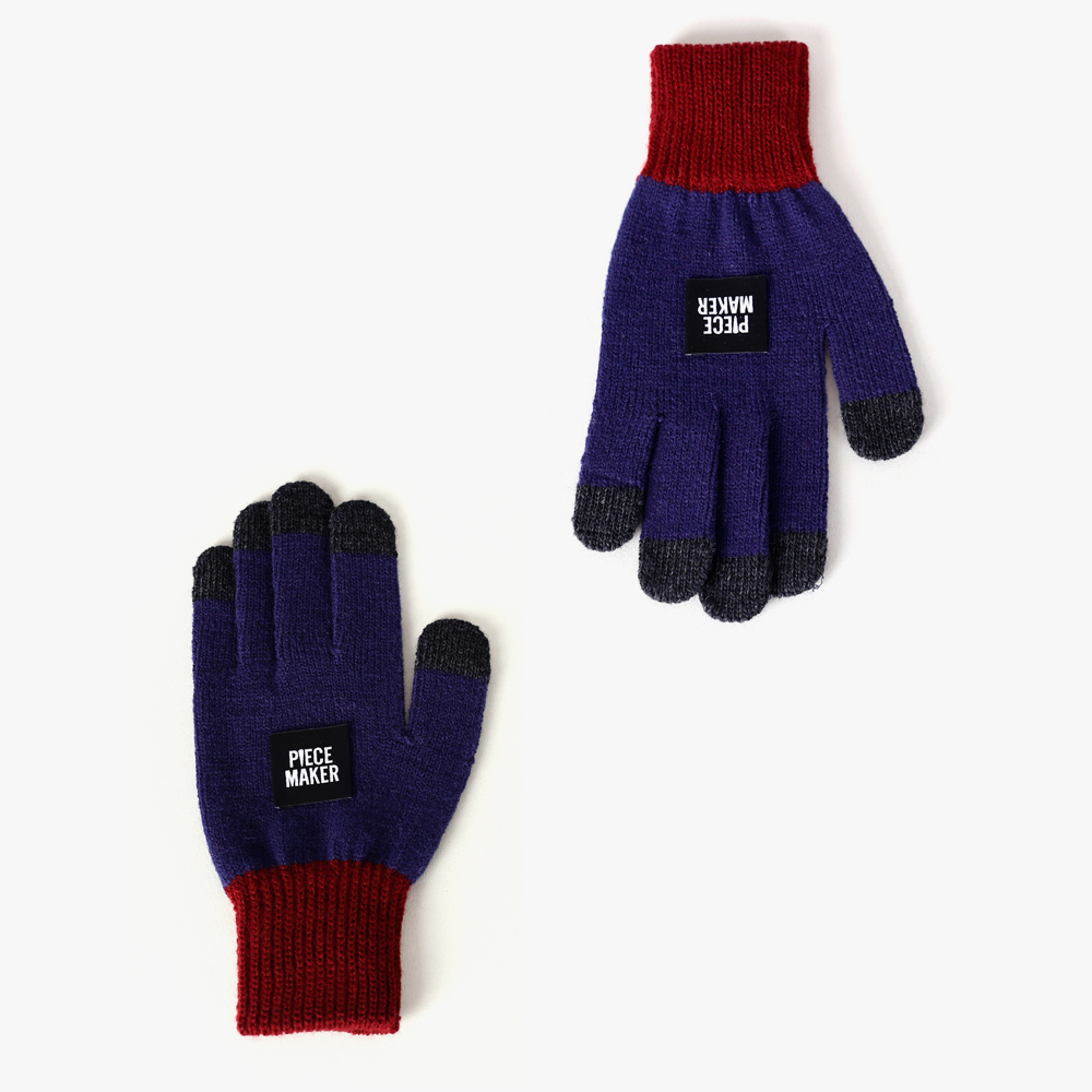 ★선물 박스★OG COLORS SMART GLOVES (NAVY)