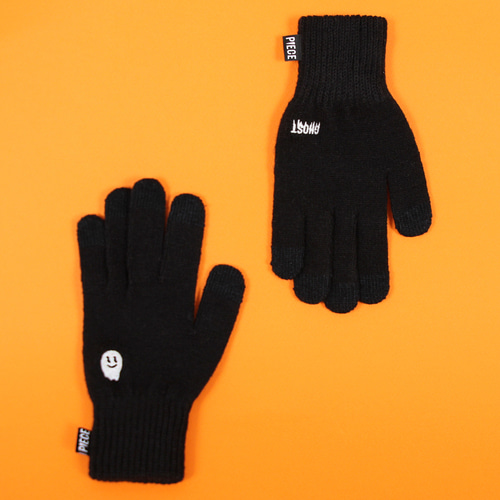 ★선물 박스★ GLOW GHOST SMART GLOVES (BLACK)
