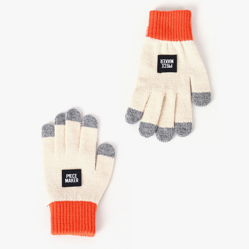 ★선물 박스★OG COLORS SMART GLOVES (BEIGE)