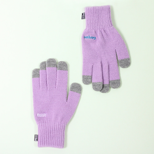 PETIT GARCON SMART GLOVES (PURPLE)