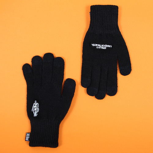 ★선물 박스★GLOW SPACE SMART GLOVES (BLACK)