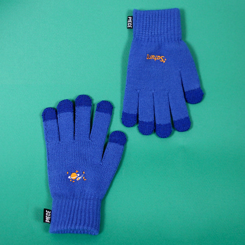 ★선물 박스★SPACE UNIT SMART GLOVES (BLUE)