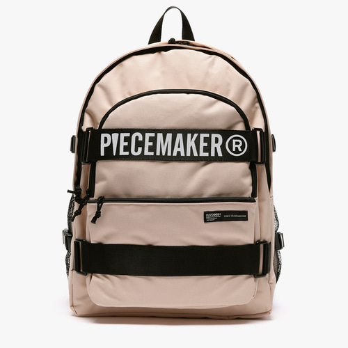 CARRY SQUARE BACKPACK (BEIGE)