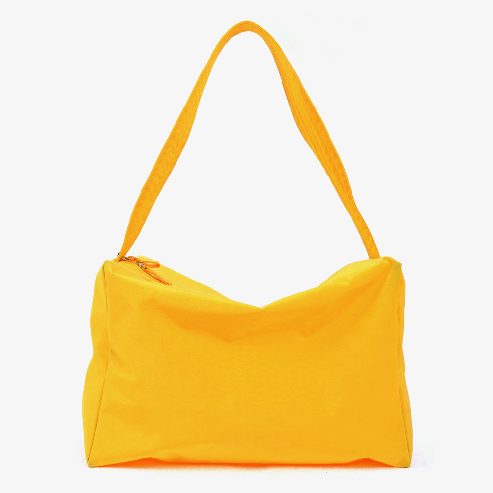 NYLON SHOULDER&MESSENGER BAG (YELLOW)