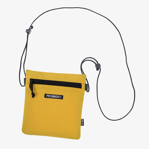 NYLON SACOCHE BAG (YELLOW)