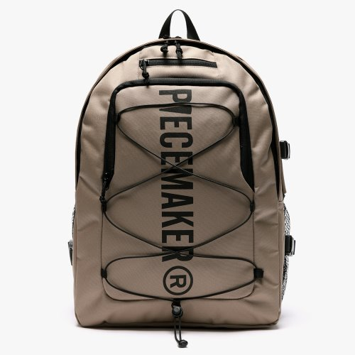 STRING SQUARE BACKPACK (KHAKI BEIGE)