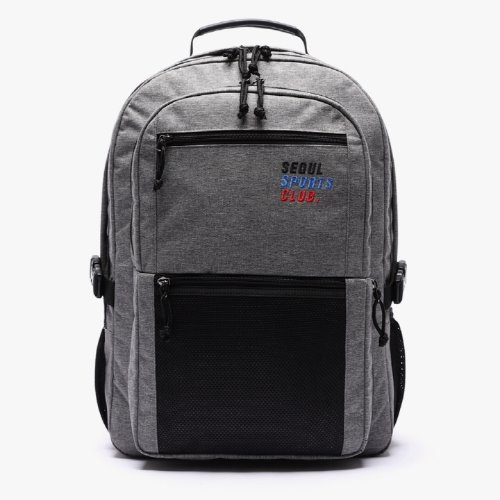 SSC SQUARE BACKPACK (MELANGE GREY)
