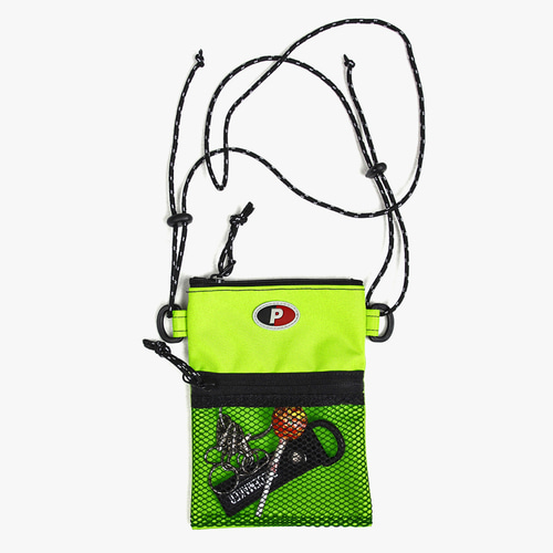 SACOCHE BAG (NEON LIME)