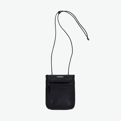 LEATHER LACE MINI BAG (BLACK)
