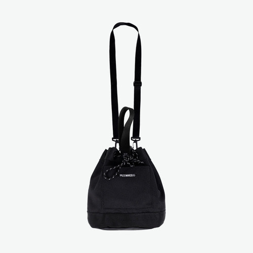 COLORS BUCKET BAG (BLACK)