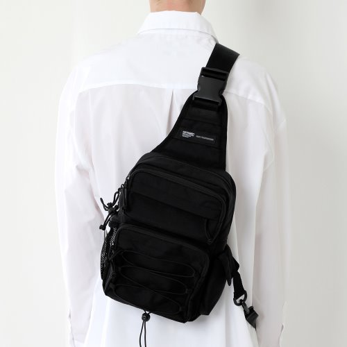 [17차 재입고] CORDURA TECH SLING BAG (ALL BLACK)