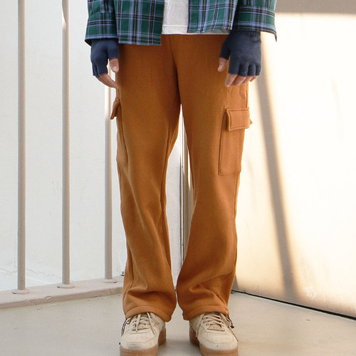 RELAX CARGO PANTS (CAMEL)