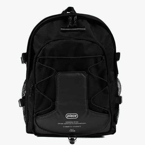 SCOTCH STRING SQ BACKPACK (BLACK)