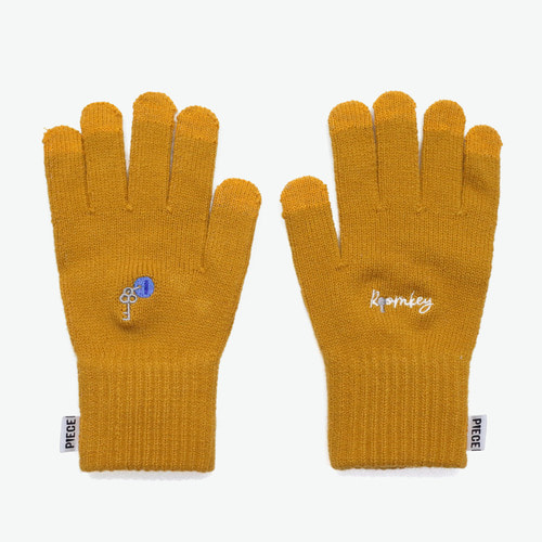 ROOMKEY SMART GLOVES (MUSTARD)