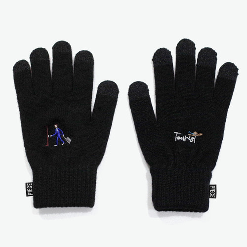 TOURIST M SMART GLOVES (BLACK)