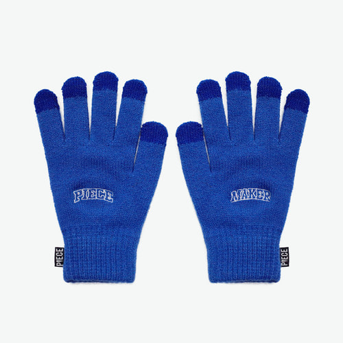 ARCH LOGO SMART GLOVES (BLUE)