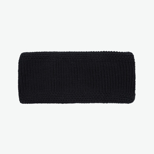 WIDE HAIR BAND (BLACK)