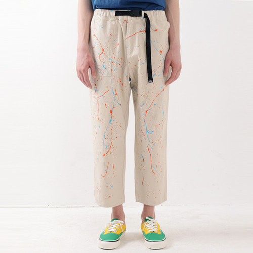 PAINTING FATIGUE EASY PANTS (OATMEAL)