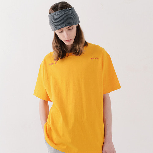 ALL LOGO TSHIRTS (YELLOW)