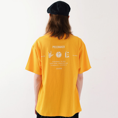 PM ICON TSHIRTS (YELLOW)