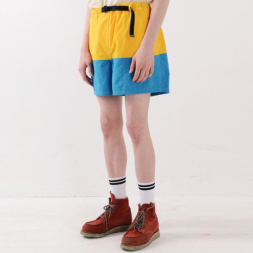 NYLON COLOR SHORTS (YELLOW)