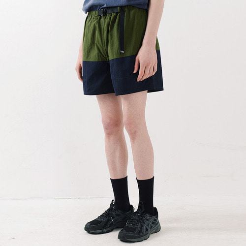 NYLON COLOR SHORTS (NAVY)