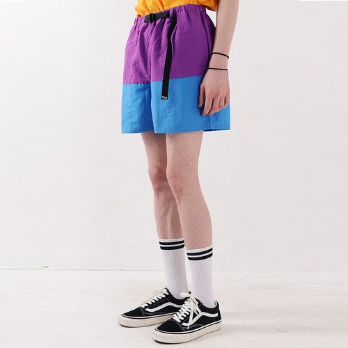 NYLON COLOR SHORTS (PURPLE)