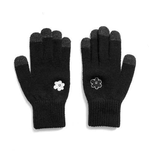 [1/26 예약배송] [EZwithPIECE] DAISY SMART GLOVES (BLACK)