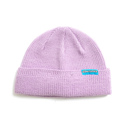 [10월 8일 예약발송][EZwithPIECE] WATCH CAP (PURPLE)