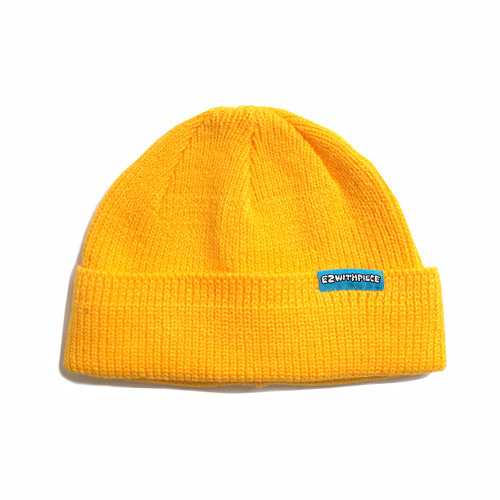 [10월 8일 예약발송][EZwithPIECE] WATCH CAP (YELLOW)