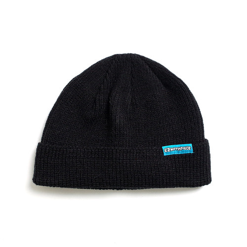 [EZwithPIECE] WATCH CAP (BLACK)