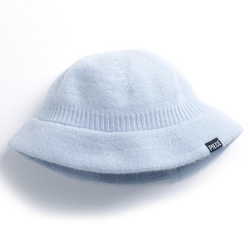 CASHMERE BUCKET HAT (SKY BLUE)