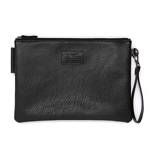 GORGEOUS LEATHER CLUTCH (BLACK)