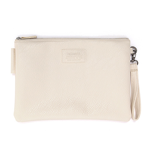GORGEOUS LEATHER CLUTCH (WHITE)