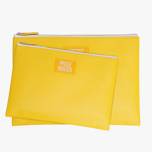CRAYON CLUTCH (YELLOW)