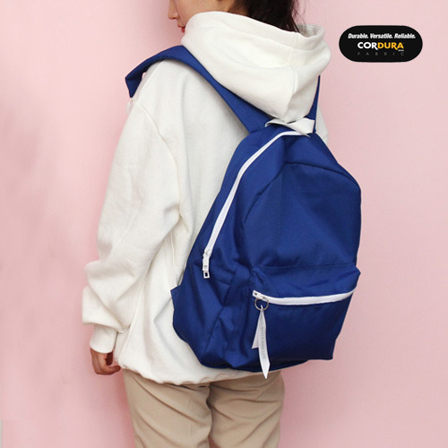 [착한가방] ALICE CORDURA DAY PACK (ROYAL BLUE)