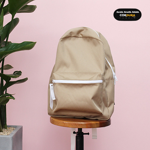 [착한가방] ALICE CORDURA DAY PACK (CARAMEL)
