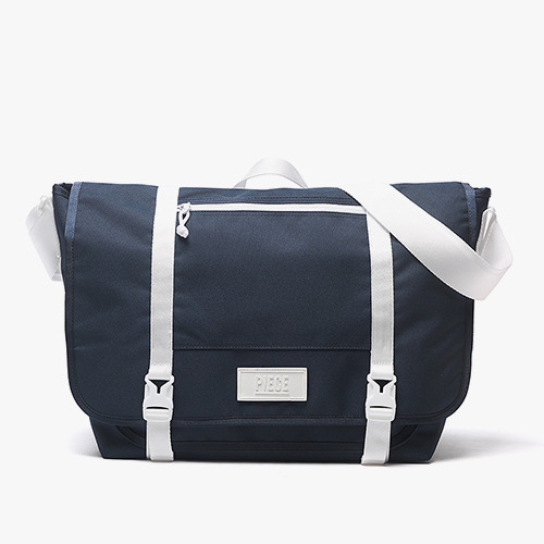 [착한가방] PIECE CORDURA MESSENGER BAG (NAVY)