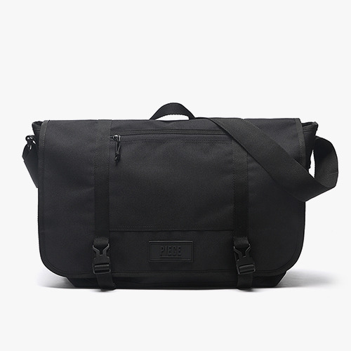 [착한가방] PIECE CORDURA MESSENGER BAG (BLACK)
