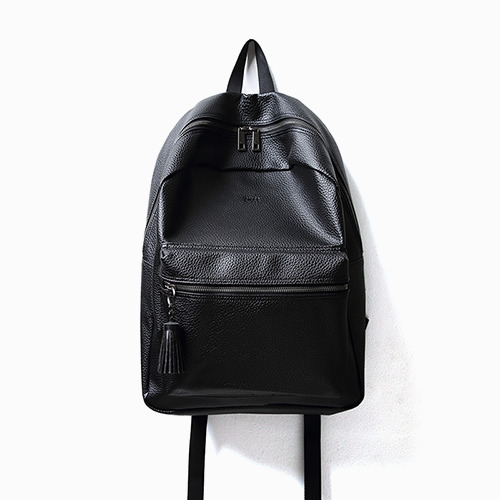 BOB LEATHER DAY PACK (BLACK)